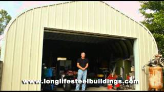 Hurricane Steel Building Testimonial By Longlife Steel Buildings