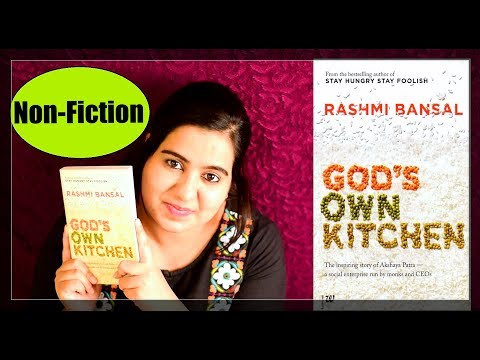 God's Own Kitchen by Rashmi Bansal | Book Review | Non-Fiction