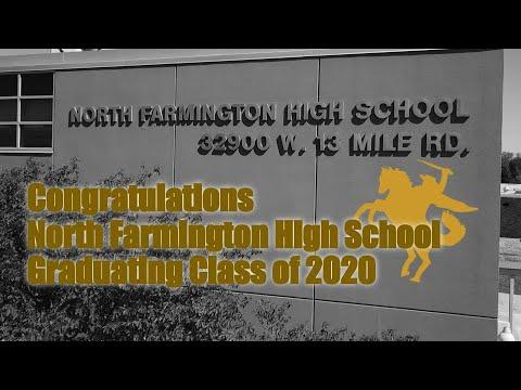 North Farmington High School, Farmington Hills, MI ~ Class of 2020