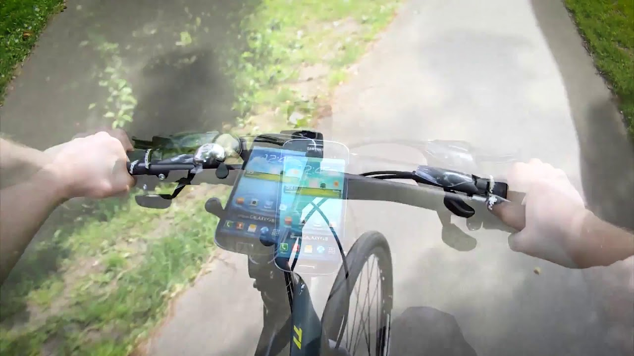 349513b785bc71 EZ-On/Off™ X-Grip® Bicycle Mount w/ Tether - YouTube