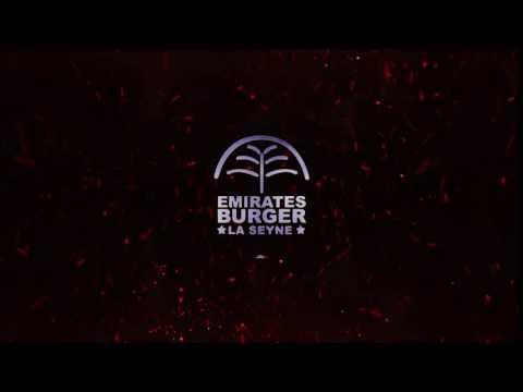 Créations de logos vidéos - Emirates Burger