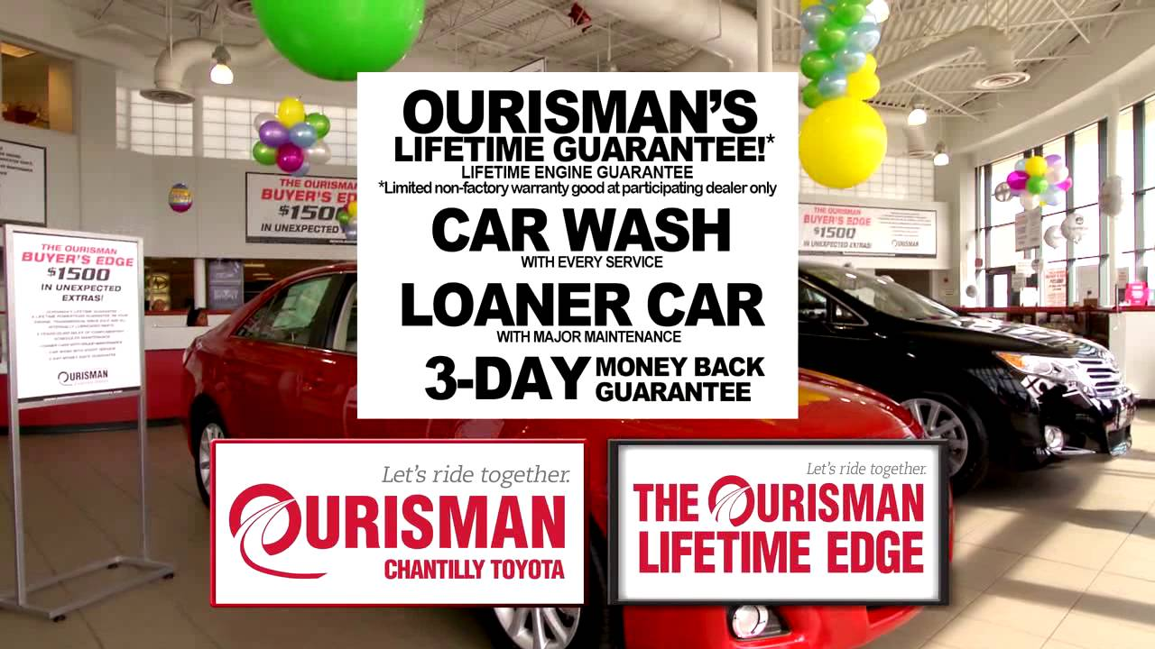 Ourisman Toyota Chantilly >> Ourisman Chantilly Toyota Spring Sales Event Youtube
