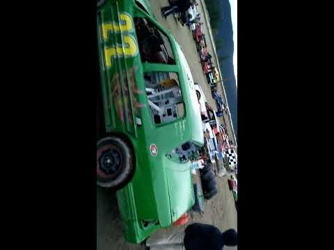 Merritt Speedway Hobbystock main event Oct 9 2016