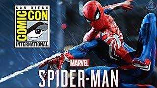 Spider-Man PS4 - Confirmed for San Diego Comic Con 2018!
