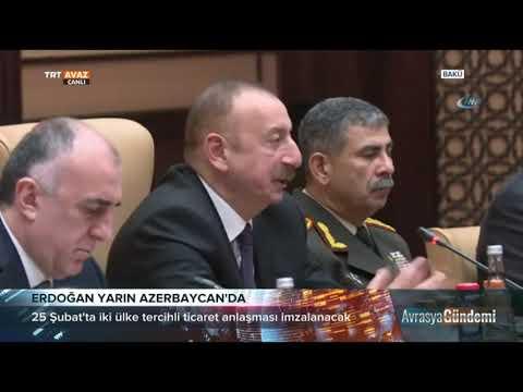 #Cumhurbaskani Baku Ye Gidiyor