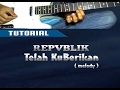 Belajar Melody REPUBLIK TELAH KUBERIKAN Guitar Lesson