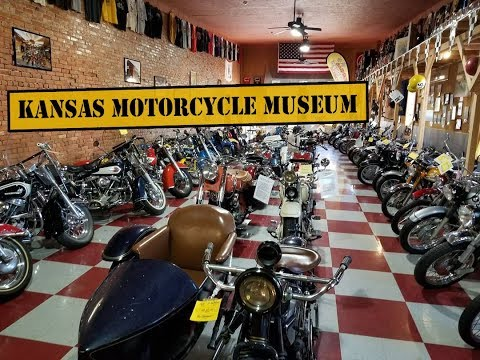 WORLD RIDE 2017 || EP.98 || KANSAS MOTORCYCLE MUSEUM, USA
