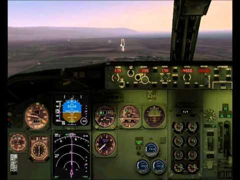 BURUNDI   BUJUMBURA LANDING Rwy 17   B737 Wilco   FS2004