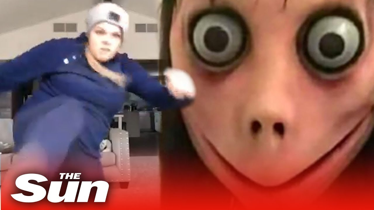 Angry mum vs Momo | Momo Challenge  #Trend