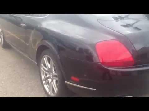 Bentley Suspension Failure.