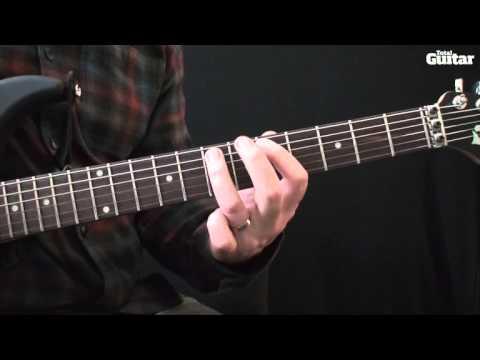 Guitar lesson: How to play Pantera - I'm Broken (main riff)