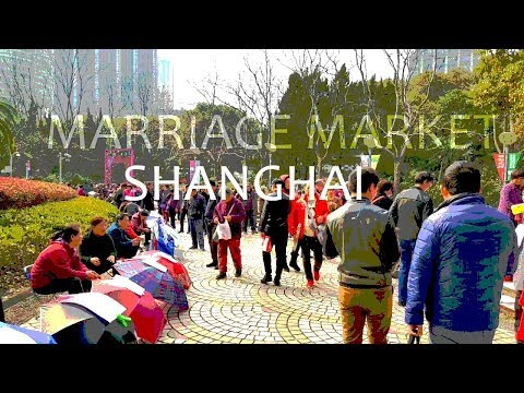 MARRIAGE MARKET, Shanghai CHINA 👫