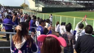 小牧市民球場での広島とのオープン戦。2-4敗戦。