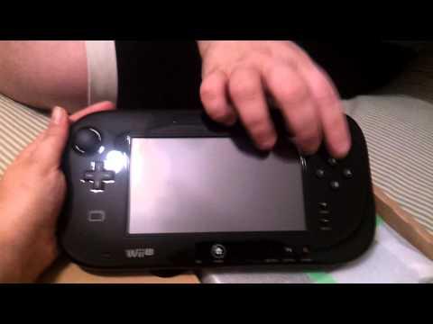 Unboxing Wii U + Zombi U + Nintendo Land