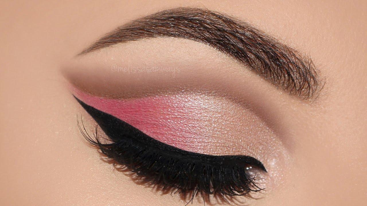 Soft Pink Cut Crease Makeup Tutorial Melissa Samways