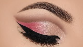 ♡ Soft Pink Cut Crease Makeup Tutorial | Melissa Samways ♡