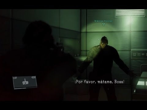 Metal Gear Solid V: Infection in Mother Base | Very dramatic scene