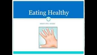 Eating Healthy video