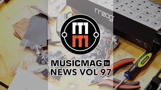 MUSICMAG TV NEWS #97: MOOG Subharmonicon, ACID Pro 8, дилей от Ninja Tune и др.