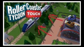 what does the train do   is it useful   rollercoaster tycoon touch   rct touch