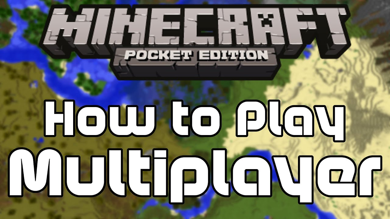 minecraft pocket edition how to play local multiplayer