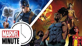 New Playable Characters & Costumes in MARVEL ULTIMATE ALLIANCE 3: The Black Order | Marvel Minute