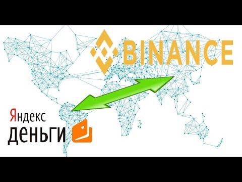 Как выводить деньги с Бинанс. Выводим на Яндекс карту.
