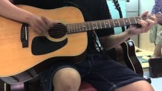 [Fingerstyle Guitar] [Tâm Sự Cùng Người Lạ] học viên lớp dạy nhạc [6 NGÀY BIẾT CHƠI GUITAR]