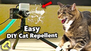 How you can mąke a Cat Repellent for Under $15 in Parts!