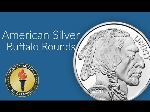Silver Buffalo Round | Money Metals Exchange