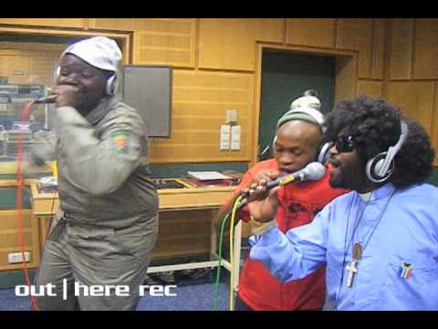 Mgo & Pastor Mbhobho - Busy recording in the studio