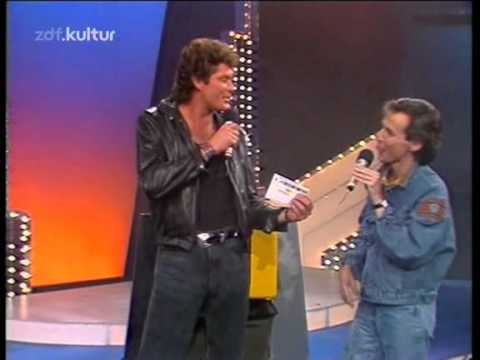 David Hasselhoff - Looking for Freedom (ZDF Hitparade 22.03.1989)