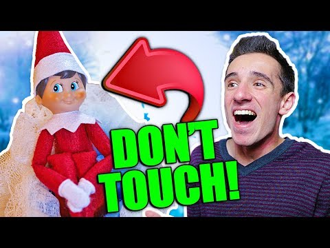 ELF ON THE SHELF IS REAL 4! DON'T TOUCH!
