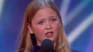 Beau Dermott canta Defiying Gravity. Audición Britain´s Got talent 2016. Golden Buzzer Amanda