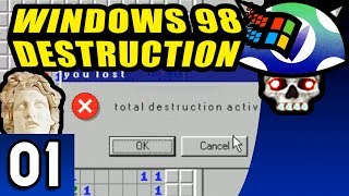 [Vinesauce] Joel - Windows 98 Destruction ( Part 1 )
