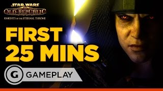 First 25 Minutes of Star Wars: The Old Republic - Knights of the Eternal Throne