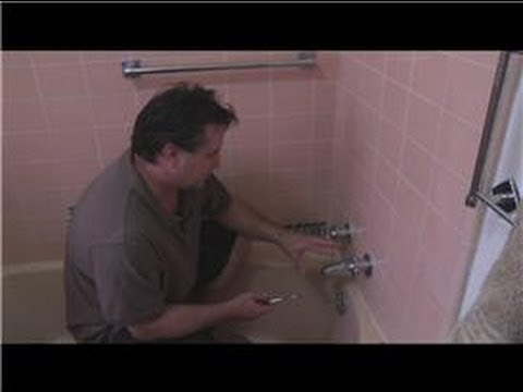 Bathroom Fix-It Tips : How to Fix a Shower Head Drip - YouTube