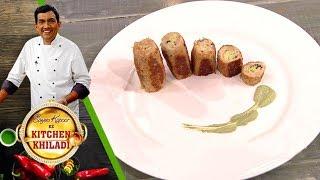 Sanjeev Kapoor Ke Kitchen Khiladi - Episode 22 - Curry Bun & Cheese Stuffed Chicken Kebab