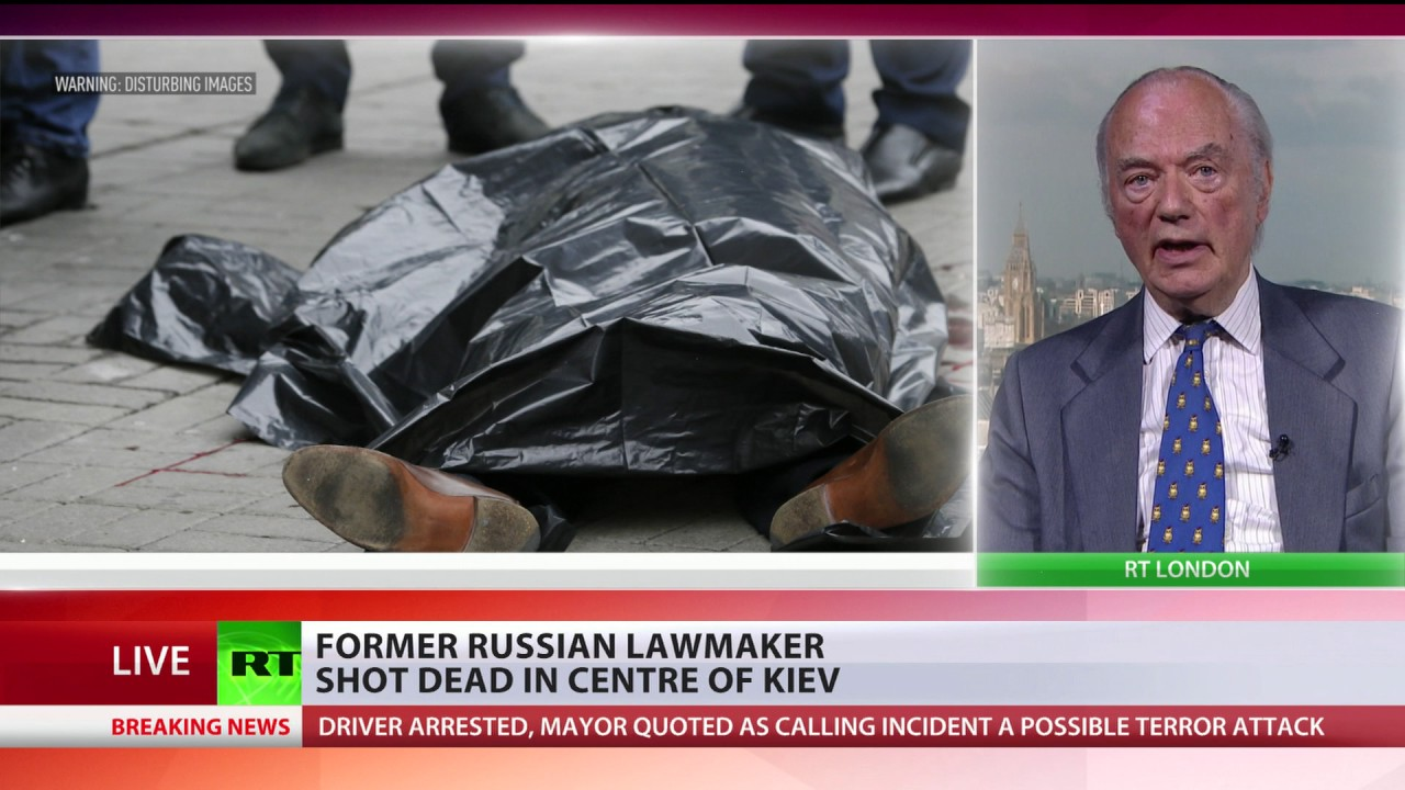 'Anything Ukraine sees negative, points at Moscow' – Analyst on fmr Russian lawmaker murder in Kiev