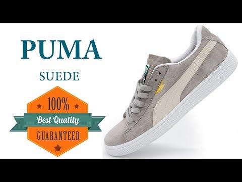 Кроссовки Puma Suede Пума Суеде серые, натуральная замша, Топ качество! 0fc874a5d24