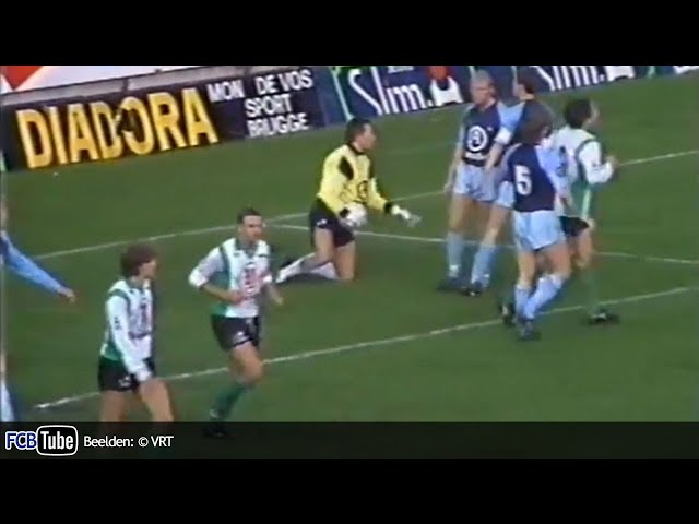 1988-1989 - Jupiler Pro League - 15. Cercle Brugge - Club Brugge 3-1