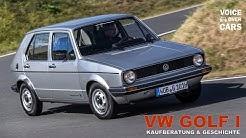 VW Golf 1 Kaufberatung | Geschichte | Typische Mängel | Schwachstellen | Voice over Cars CLASSIC!