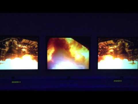 Jo rocket launch footage - JK Space Centre VIP tour '15 - 3