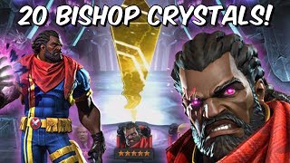 20x 5 Star Bishop Grandmaster Featured Crystal Opening! - Marvel Contest Of Champions thumbnail
