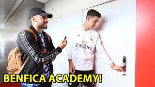Benfica Lissabon u 17 Talent zeigt uns sein Leben im Campus!!