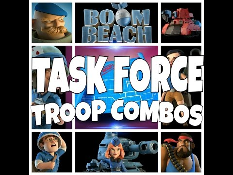Best Worst Troop Combos For Task Force Ops BoomBeach
