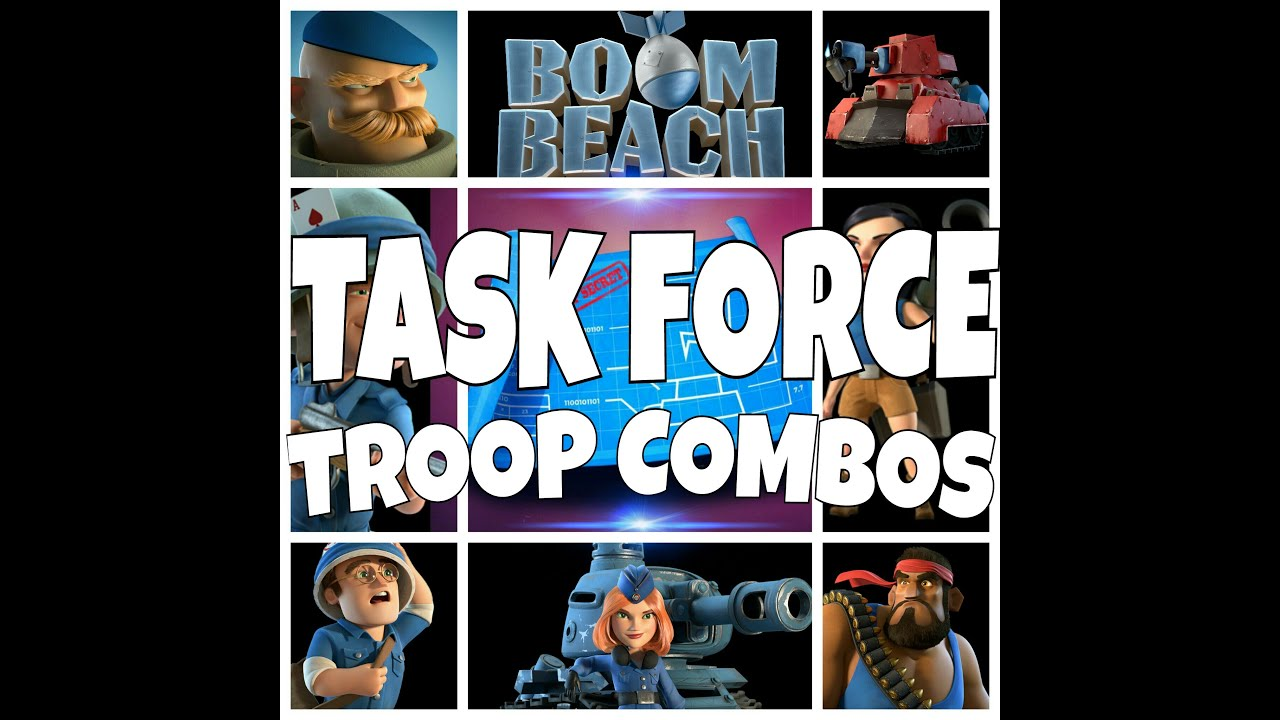 Best Attack Combo For Boom Beach