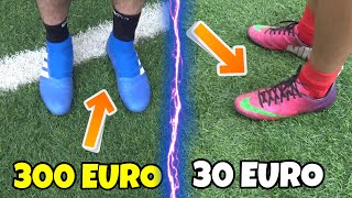 SCARPE DA CALCIO DA 300€ VS SCARPE DA 30€! Chi vincerà?