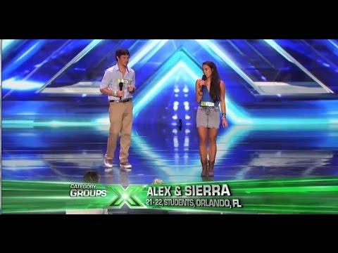 Alex & Sierra -X FACTOR 2013 - ALL IN ONE