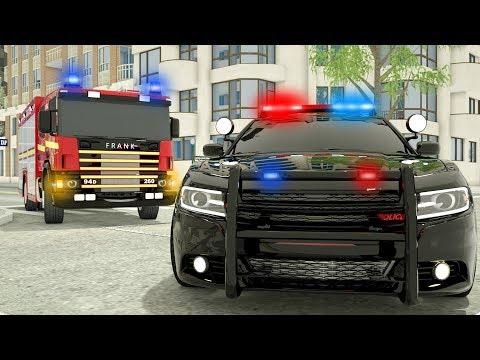 Fire Truck Frank Learn to Help - Wheel City Heroes (WCH) - Sergeant Lucas the Police Car New Cartoon